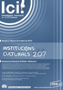 Institucions culturals 2.0?