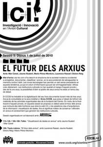 El futur dels arxius
