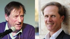 L'antropòleg Tim Ingold i l'escriptor Philip Hoare